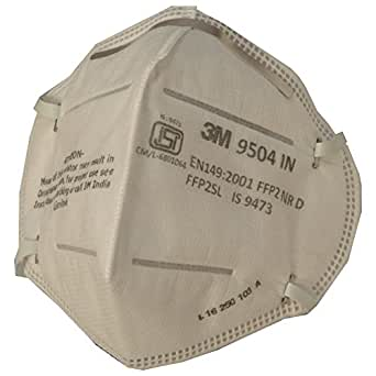 3M 9504-IN Respirator, Pack of 5 by Rajvir International