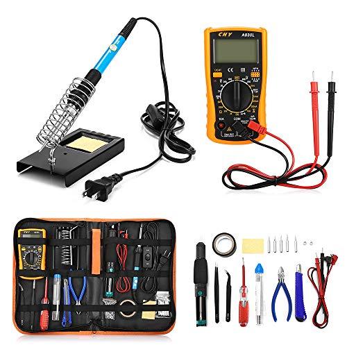 23 in 1 Multi-Use-Lötkolben-Werkzeugset für verschiedene elektronische Geräte (US PLUG)