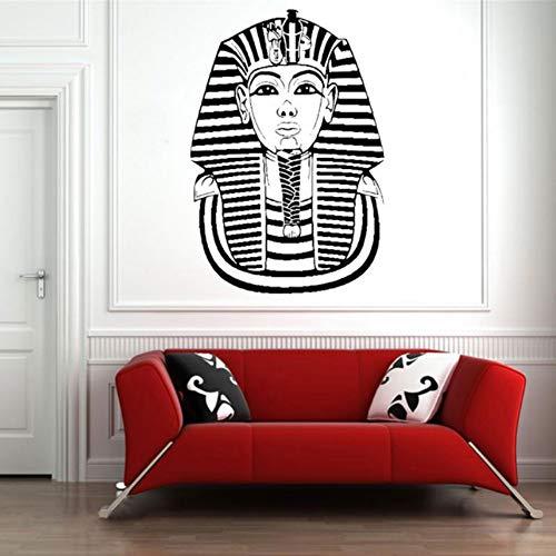 (Ayhuir Ägyptische Kunst Pharao Maske Historische Abziehbilder Vinyl Aufkleber Wandbild Wanddekor Innen Aufkleber Geschichte Kunst Pädagogisches 57X84Cm)