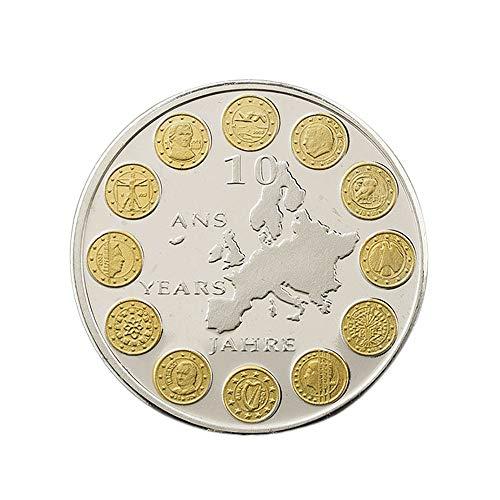Países de la Ue 12,Euro,Monedas Conmemorativas,Plata,Luxemburgo,Alta