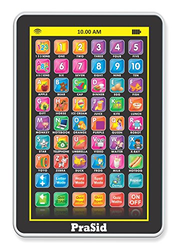 Prasid 2917-4.0 My Pad Mini English Learning Tablet for Kids - Indian Voice, Black  available at amazon for Rs.269