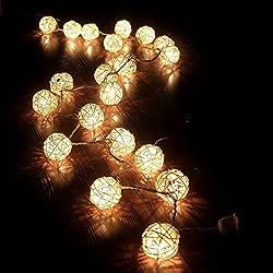 20 cadena de hadas LED luces de boda