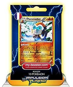 MAMMOCHON holo reverse 82/162 160PV XY08 IMPULSION TURBO - Booster de 10 cartes Pokemon francaises my-booster