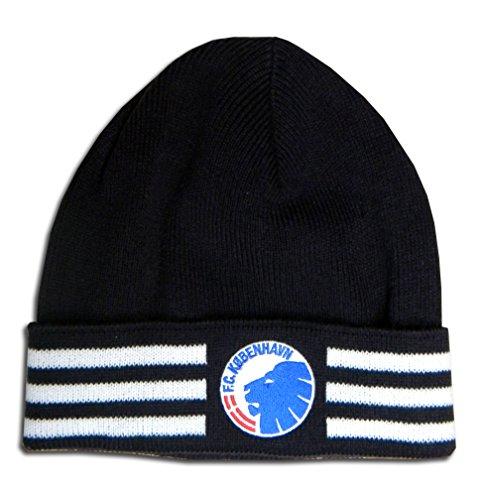 Fußball-fußball-beanie-mütze (Adidas FC København Copenhagen beanie Mütze Fußball schwarz)