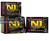 Nutrend N1 10x17ml Orangengeschmack Pre-Workout Beta-Alanin, Taurin AAKG DMAE