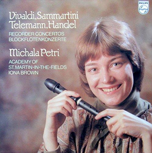 Blockflötenkonzerte / Recorder Concertos (von Vivaldi, Sammartini, Telemann und Händel) [Vinyl LP]...