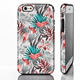 Coque pour iPhone, motif floral, plastique, 10. Pink Tropical Hawaiian Flowers and...
