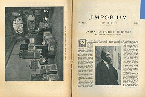 L'anima e lo studio di un pittore (in memoria di Luigi Conconi) .