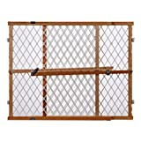 Best Dog Gate - North States Pressure Mount Diamond Mesh Wood Gate Review