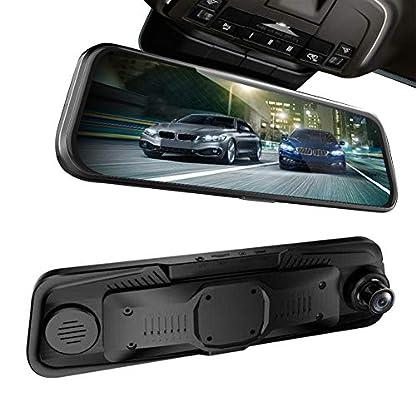 SINOTECHQIN-966Fahrrecorder-Rckspiegel-Streaming-Media-Touch-Screen-Kamera-Recorder-Rckfahrkamera-1-Paket