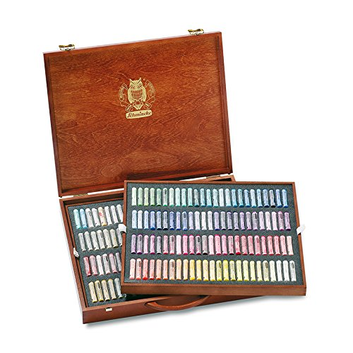 Schmincke Soft Pastels - Presentation Wooden Box Set ~ 200 Stick