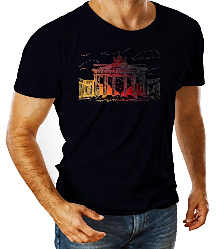 billion-group-brandenburg-gate-berlin-germany-city-collection-mens-ben-crew-neck-classic-tshirt-azul