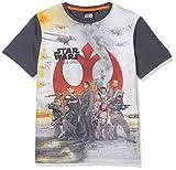 Star Wars Jungen T-Shirt Empire, grau, 7-8 (Herstellergröße: 8 Jahre)