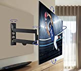 QualGear Articulating Wall Mount for TV Upto 23 - 42-Inch - Black Bild 6