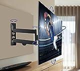 QualGear Articulating Wall Mount for TV Upto 23-42-Inch - Black Bild 6