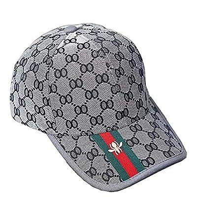 Baseballmütze, Karierte Mütze - Outdoor Sonnenblende Hut - Herren Damen Herbstmütze - Fashion Trend Grauer Hut von MZ-Hut auf Outdoor Shop