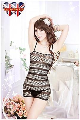ordered by WooooW Ltd - Salto de cama - para mujer Negro negro talla única