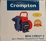 Crompton Mini Sapphire I Surface Domestic Single Phase Pressure Pump (Aluminium, Blue)