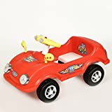 !!! Launch Offer - Selling at Crazy Price !!! Dash Civic Kids Ride on Cum Paddle Car with Lights and Horn (Red)