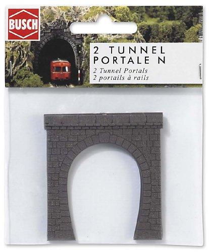 busch-environnement-bue8190-modelisme-ferroviaire-entree-de-tunnel-vapeur-echelle-n
