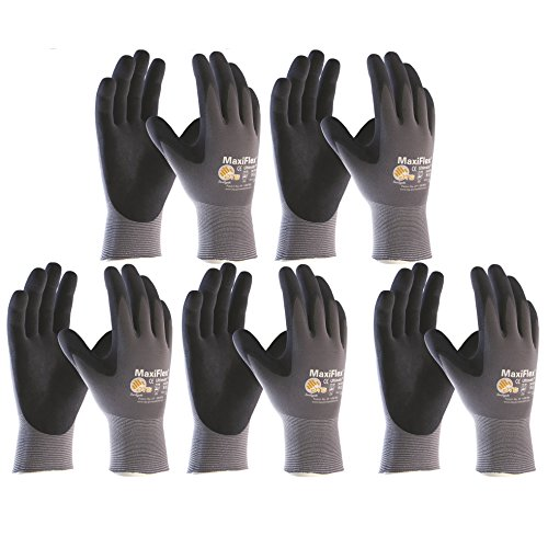 ATG  Schutzhandschuhe MaxiFlexUltimate; Größe 10; Inhalt: 5 Paar, 10 Stück Arbeitshandschuhe