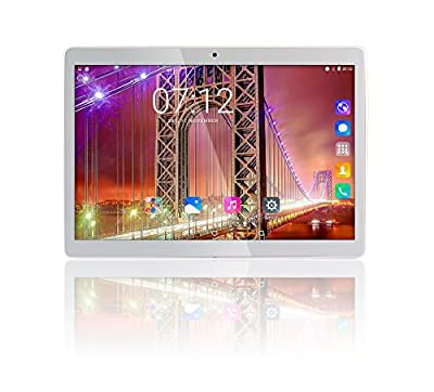 """9.6"""" Fusion5 4G Tablet PC - (4G Dual SIM , 2GB RAM, 32GB Storage, Phone Calling, 8MP and 2MP Cameras, WIFI, FM, GPS, Quad-Core Processor, IPS Screen, Android 6.0 Marshmallow Tablet PC)"""