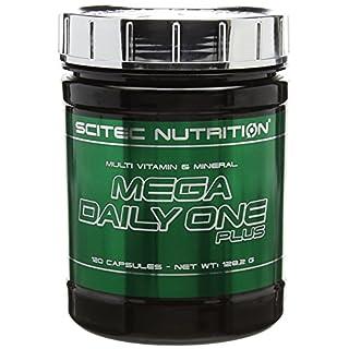 Scitec Nutrition Mega Daily One Plus Miltivitamin and Mineral Capsules, 120 Caps