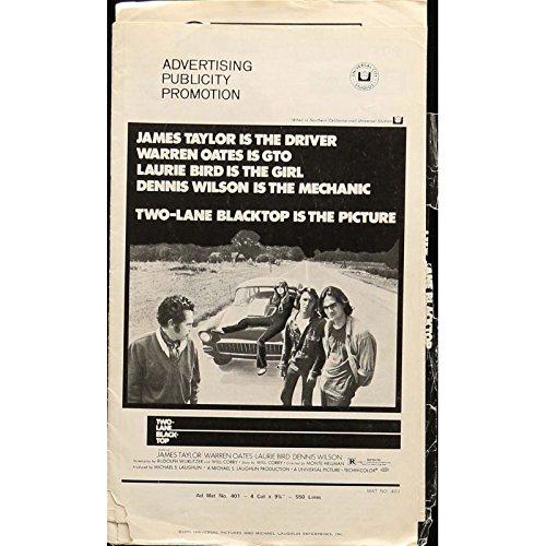 macadam-a-deux-voies-dossier-de-presse-28x43-cm-1971-warren-oates-monte-hellman