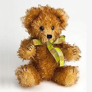 Canterbury Bears ltd 173 Freddie Mohair - Oso de Peluche, Color Dorado