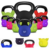 We R Sports™ SnatchFlex™ KettleBells 4KG - 40KG Cast Iron Rubber Coated Kettlebell
