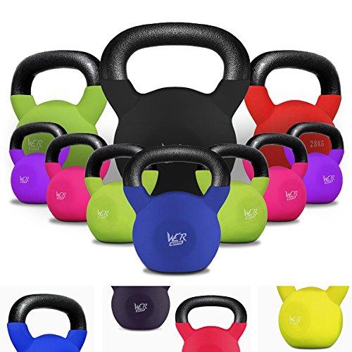 We R Sports Kettlebells Mit Gummi Hülle 4kg Bis 40kg Zuhause Turnhalle Fitness Übung Kettlebell Ausbildung Training Festigkeit Ausbildung 4kg, 6kg, 8kg, 10 Kg, 12kg, 14kg, 16kg, 18kg, 20 Kg, 22kg, 26kg, 28kg, 30 Kg, 32 Kg, 34kg, 36kg, 38kg, 40kg
