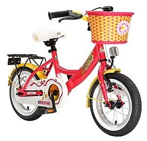 Bikestar BI-12-KK-01-RDYW KInderfahrrad, rot