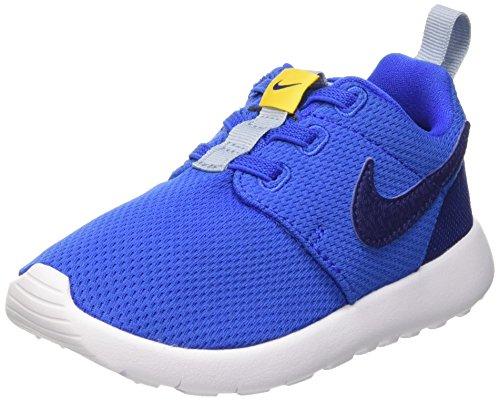 Nike Unisex Baby Roshe One (Tdv) Lauflernschuhe Schwarz / Blau (HYPR CBLT / Dp Ryl Bl-Vrsty Mz-B)