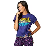 Zumba Fitness Confirmo Tee, Top Donna, Blue and You, M/L