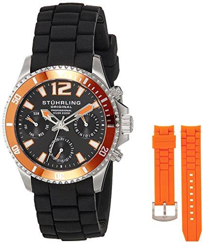 51CocrCY4CL - Stuhrling Original Aquadiver Mens 805R.SET.02 watch