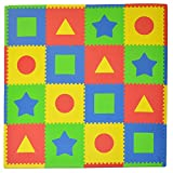 Tadpoles 16 Sq Ft First Shapes Playmat S...