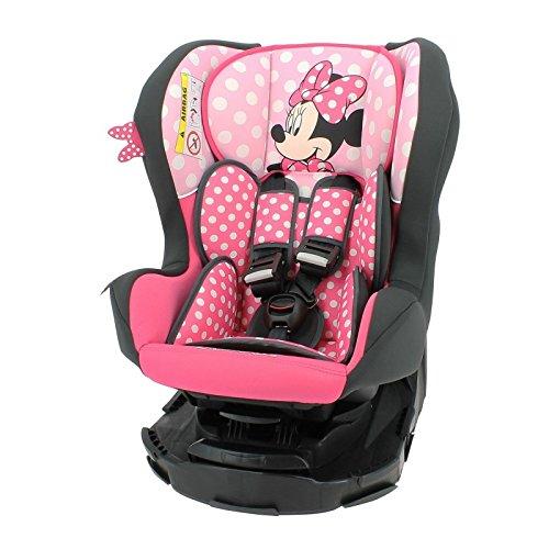 mycarsit asiento auto 360° Disney, Grupo 0+/1(de 0a 18kg), diseño de Minnie