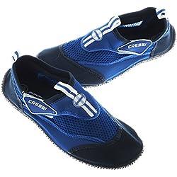 Cressi Reef Shoes Chaussons Pour Sport Aquatique Mixte, Bleu Clair/Bleu, 36 EU