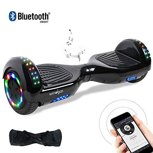"BEBK Hoverboard, 6.5\"" Self Balance Scooter mit 2 * 350W Motor, LED Lights Elektro Scooter (022)"