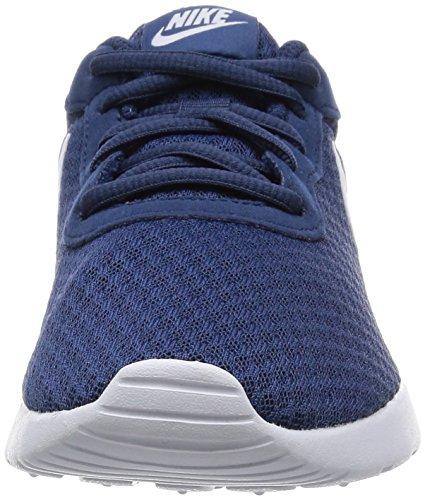 Nike Wmns Tanjun, Chaussures de Running Entrainement Femme Azul (Azul (navy/white))