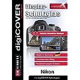 Digicover Hybrid glas Film de Protection d'écran pour Nikon D5200 Transparent