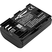 ANSMANN Li-Ion Akku A-Can LP E6 7 4V/Typ 1400mAh/Leistungsstarke Akkubatterie für Foto Digitalkameras - der perfekte Ersatzakku für Canon Digicam uvm.