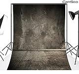 CapiSco Fotohintergrund Fotografie Stoffhintergrund Stoff Hintergrund Fotostudio Retro Wand Boden 1,5 * 2,1m MT17