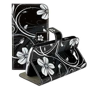 A-Mall Cuir Coque Strass Case (Pattern Design) Etui Coque étui de portefeuille protection Coque Case Cas Cuir Swag Pour Samsung Galaxy Grand Neo i9060 Récompense: Film protecteur + Stylus X1 P01