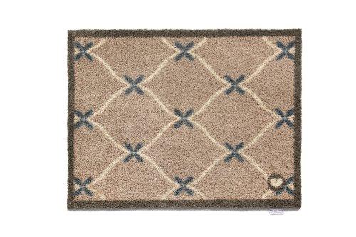 Fußmatte, Teppich, Baumwolle, und Farbstoffe, maschinenwaschbar-Taupe Home 1465x 85cm - Teppich Farbstoff