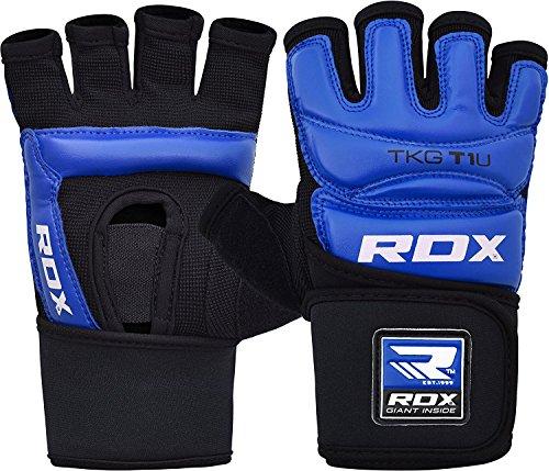 RDX Taekwondo Handschuhe Boxsack WTF Handschutz TKD Boxen Sparring Kampfsport Gloves Sparring Freefight Punchinghandschuhe Test