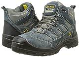 Safety Jogger SATURNUS, Unisex - Erwachsene Arbeits & Sicherheitsschuhe S1, grau, (blk/dgr/mgr 172), EU 40 -