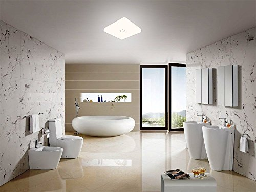 Plafoniere Led Per Cucina : Öuesen plafoniera led bianco freddo lampada da soffitto 24w ip44