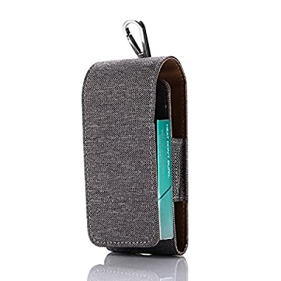 IQOS Case Electronic Cigarette Leather Cover Shockproof E-Cigarette Cover Holder Storage for IQOS Cover by JOMA E-Shop