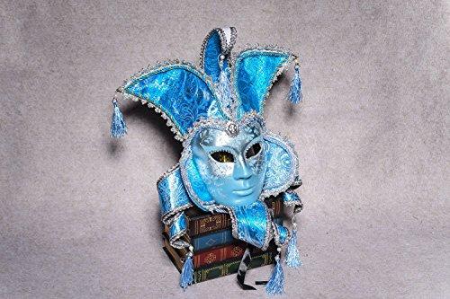 K&C Vintage Venedig Halloween Kostüm Masquerade Masken (Meerjungfrau Geheimnisvolle Mädchen Kostüme)